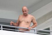 Vin Diesel ingrassato e fuori forma a Miami