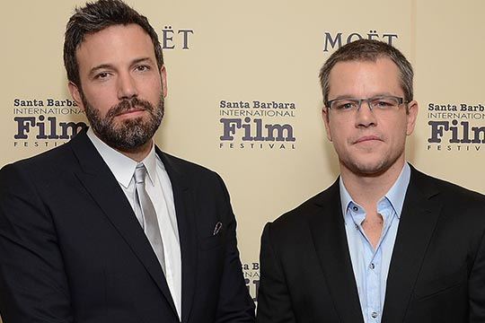 Matt Damon difende l'amico Ben Affleck: