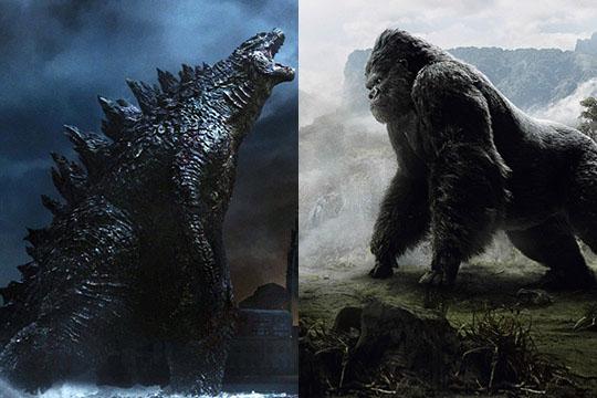 """Godzilla vs. Kong"" nel 2020, scontro tra Titani"