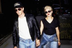 Sean Penn e Madonna ai tempi del loro matrimonio