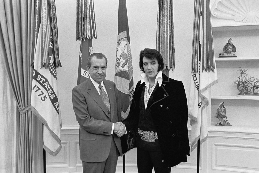 """""""Elvis & Nixon"""": una nuova clip"""