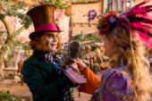 "Box Office Italia: ""Alice attraverso lo specchio"" primo in classifica"