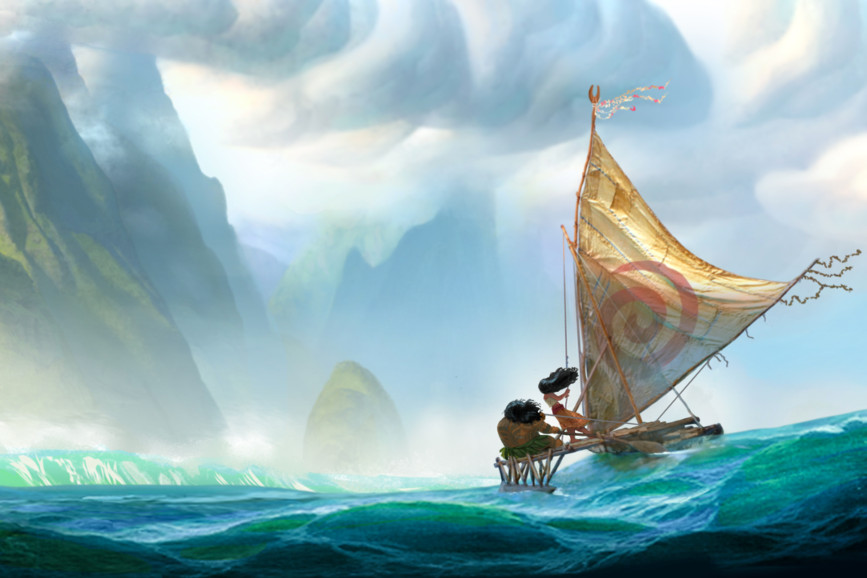 Oceania: l'ultimo poster di Tom Whalen