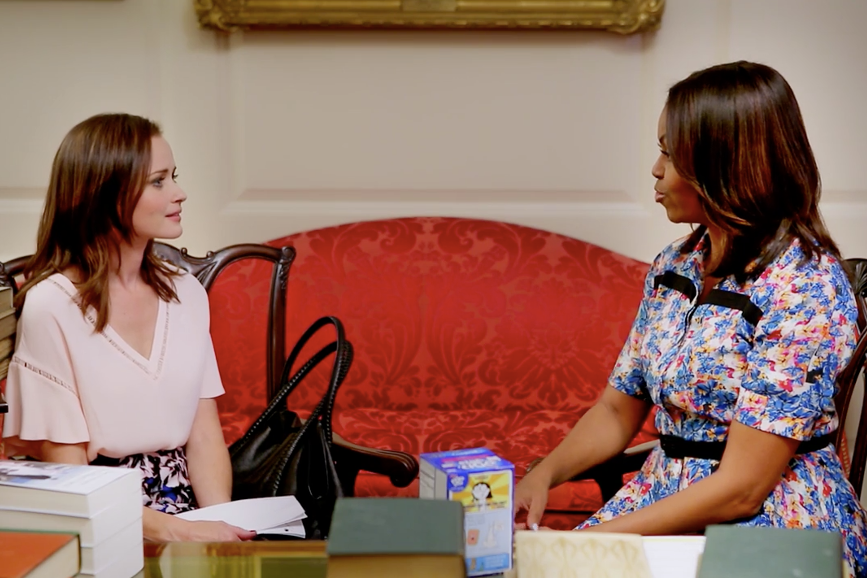 Rory Gilmore e Michelle Obama alla Casa Bianca