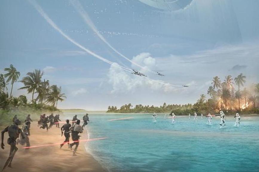 Rogue One: A Star Wars Story: pronta la locandina del film e il nuovo esclusivo filmato sul set!
