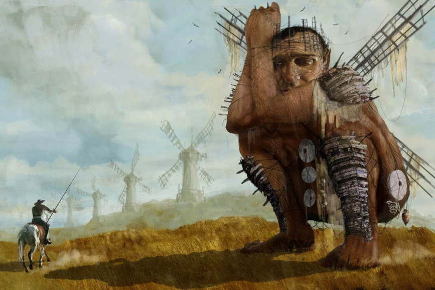 The Man Who Killed Don Quixote: Willem Dafoe e Stellan Skarsgard nel film di Terry Gilliam
