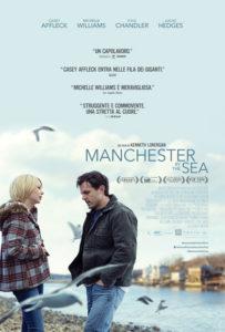 """Locandina di """"Manchester by the Sea"""", film dalle svariate candidature agli Oscar 2017"""