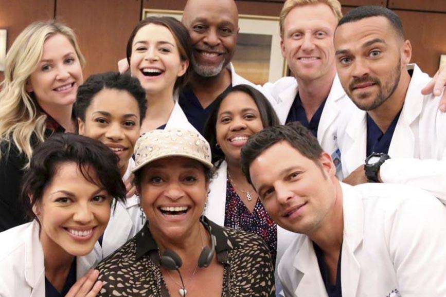 Grey's Anatomy 14 cast