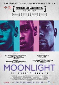 moonlight: locandina del fim dalle tante candidature agli Oscar 2017