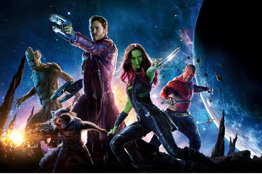 Box Office Italia: Guardiani della Galassia poster