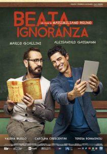 """""""Beata ignoranza"""": la locandina del film."""