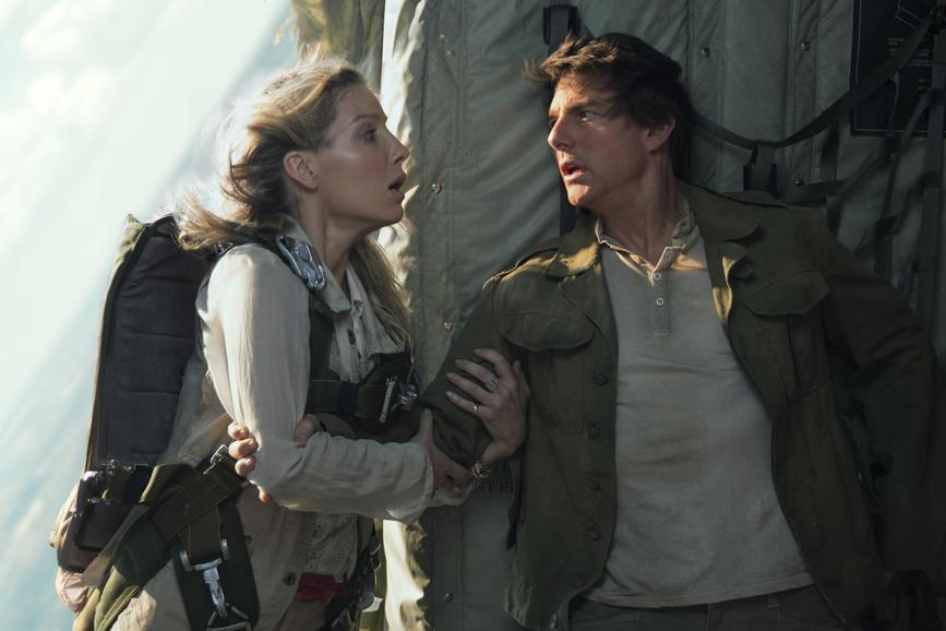 La Mummia - Tom Cruise e Annabelle Wallis