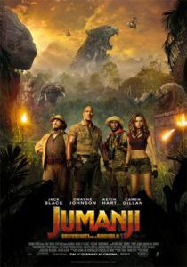 Jumanji: Benvenuti nella giungla locandina ita