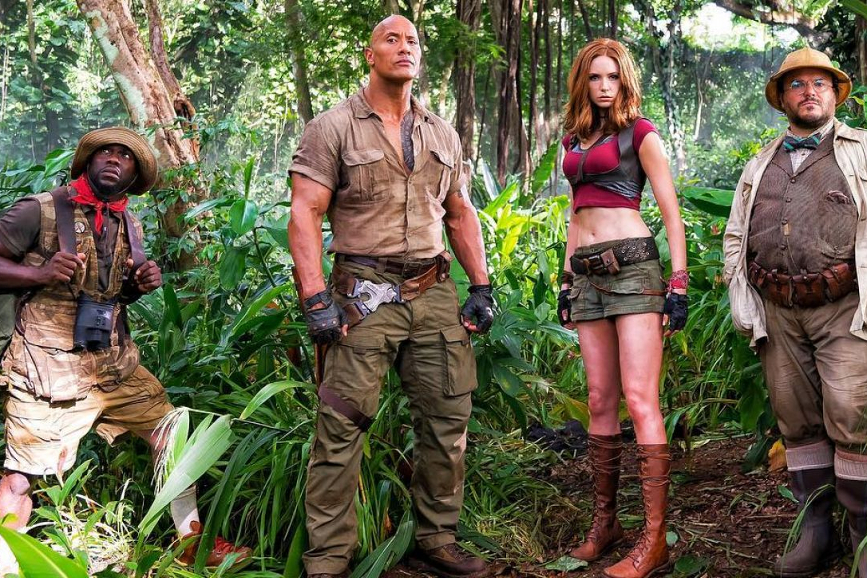 Box office USA jumanji