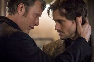 """Hannibal"": il dottor Lecter (Mads Mikkelsen) ed il profiler FBI Will Graham (Hugh Dancy)"