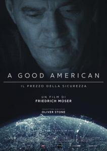 A Good American: la locandina del docufilm.