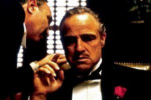 "Marlon Brando scena ""Il Padrino"""