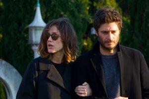 """""""La porta rossa"""": Anna Mayer (Gabriella Pession) e Leonardo Cagliostro (Lino Guanciale)."""