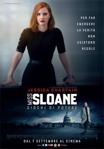 Miss Sloane - Giochi di potere poster