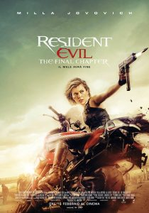 Resident Evil - The Final Chapter loc.