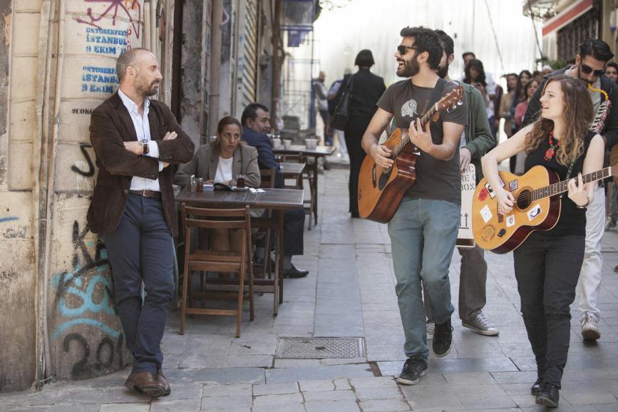 Rosso istanbul ozpetek e il cast presentano il film alla stampa - Il bagno turco film ...