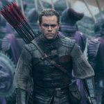 """Box Office Italia: """"The Great Wall"""" al primo posto"""