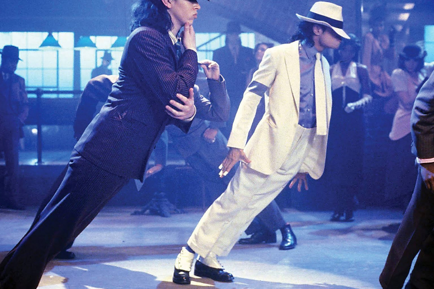 """Michael Jackson nel videoclip di """"Smooth Criminal"""""""
