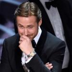 Ryan Gosling e l'equivoco agli Oscar 2017 – ecco perchè rideva