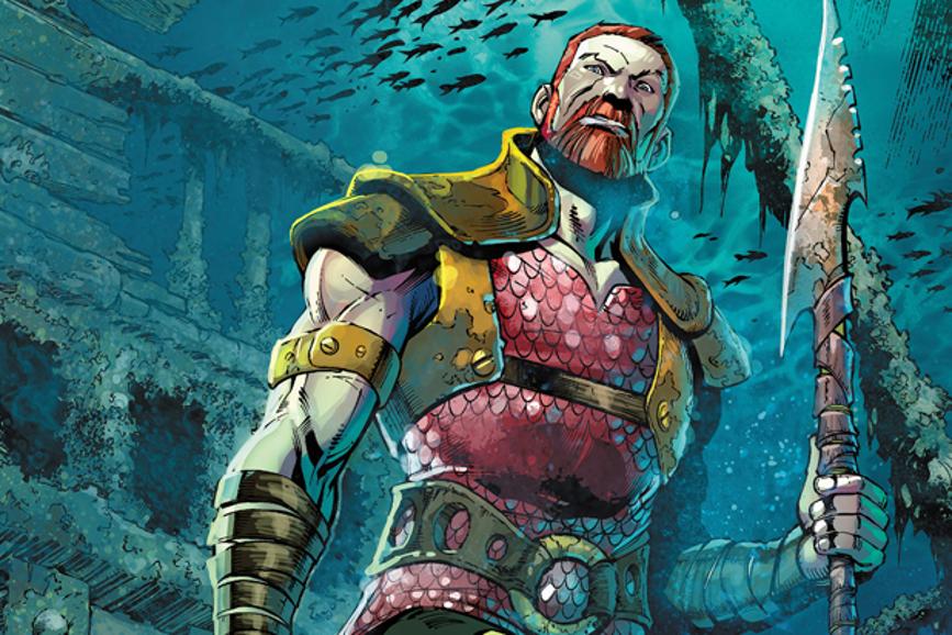 Ludi Lin Aquaman