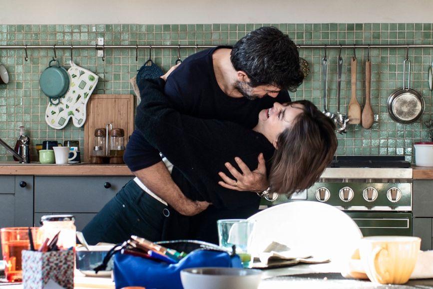 Moglie e marito Pierfrancesco Favino e Kasia Smutniak Box office Italia