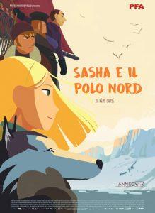 Sasha e il polo nord poster film