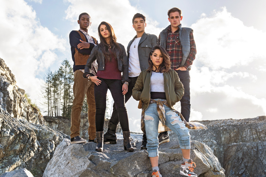 i cinque attori scelti per power rangers 2017