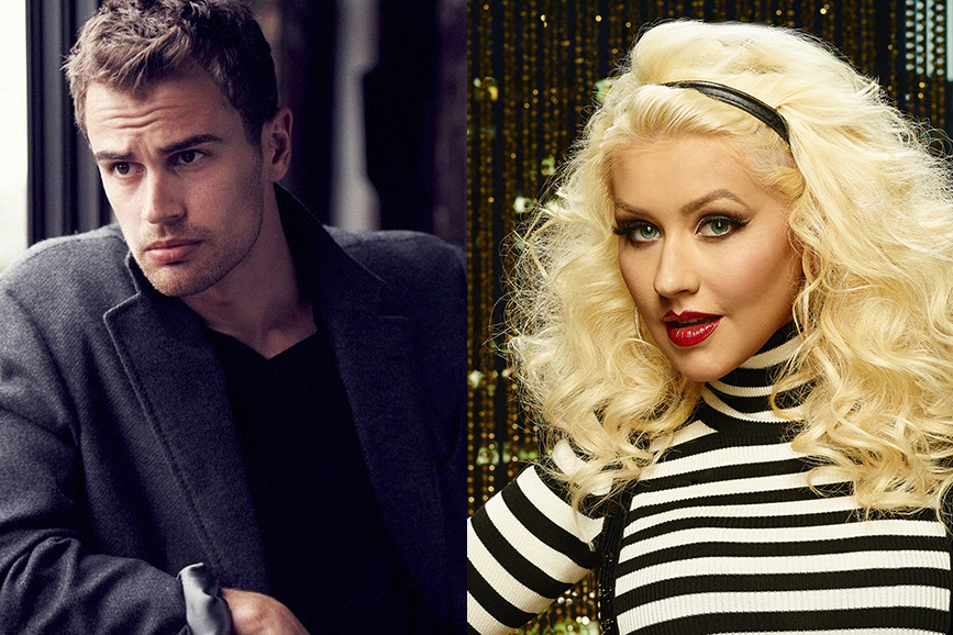 Christina Aguilera e Theo James nel cast dello sci-fi romantico