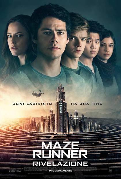 Maze Runner La rivelazione locandina ita