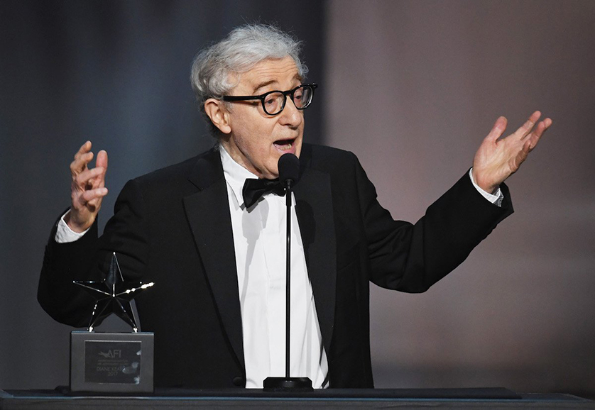 Diane Keaton premiato da Woody Allen