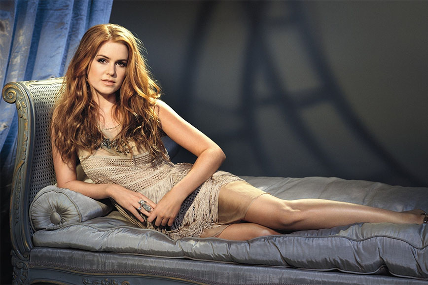 Isla Fisher ferita sul set