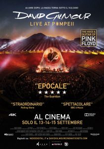 """David Gilmour - Live at Pompeii"" concerto"