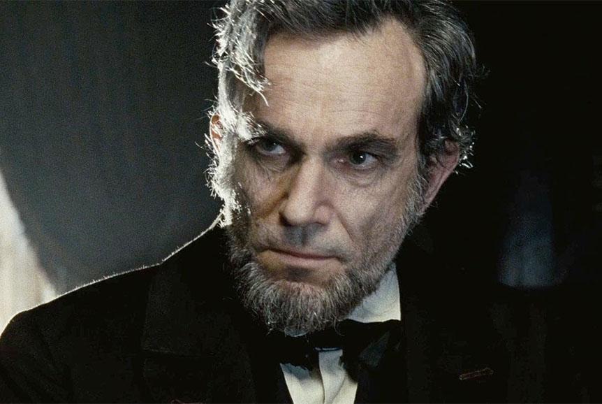 """Daniel Day-Lewis nel film """"Lincoln"""""""