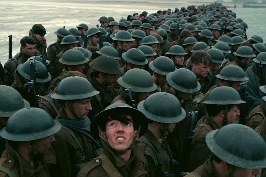 Dunkirk scena