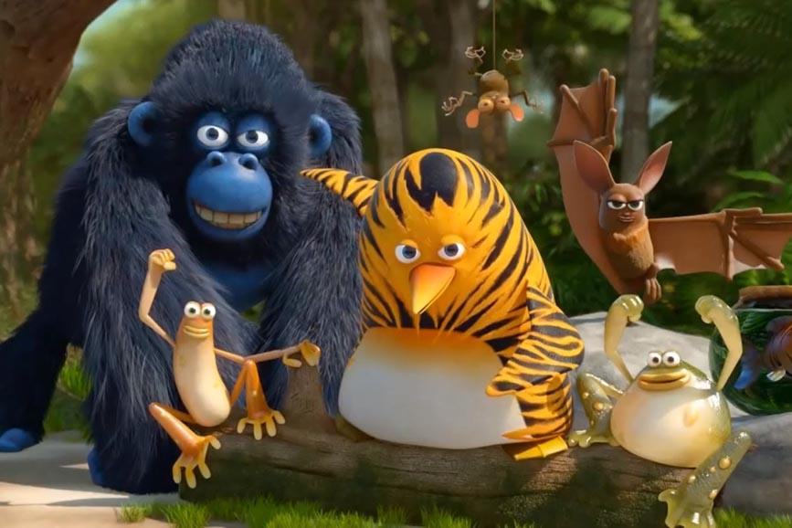 Vita da giungla: alla riscossa - Il film foto gruppo