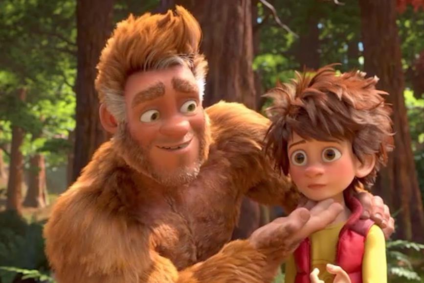 Bigfoot Junior protagonisti