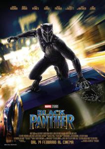 Black Panther locandina Ita