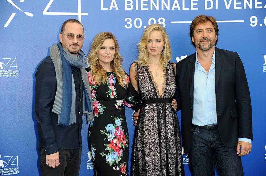 """Festival di Venezia 2017: Jennifer Lawrence sbarca al Lido per """"Mother!"""""""