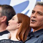 """Festival di Venezia 2017: Clooney, Damon e Moore presentano """"Suburbicon"""""""
