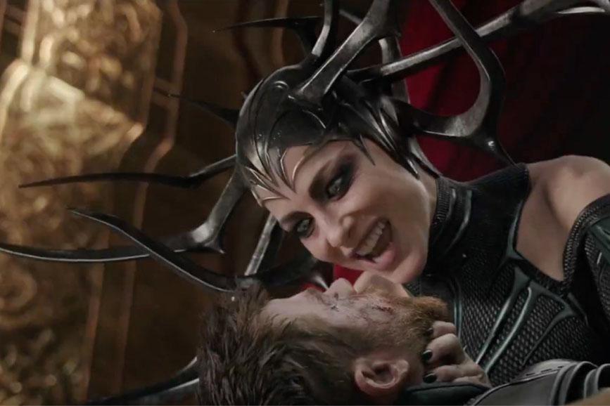 Kate Blanchett in Thor: Ragnarok