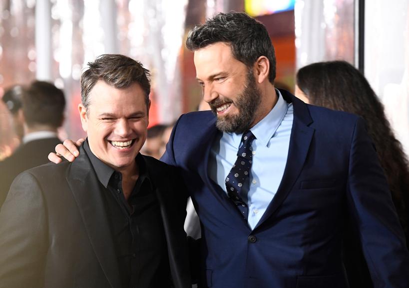 Ben Affleck, Matt Damon e Jennnifer Todd produrranno