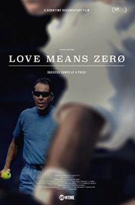 Love Means Zero Locandina
