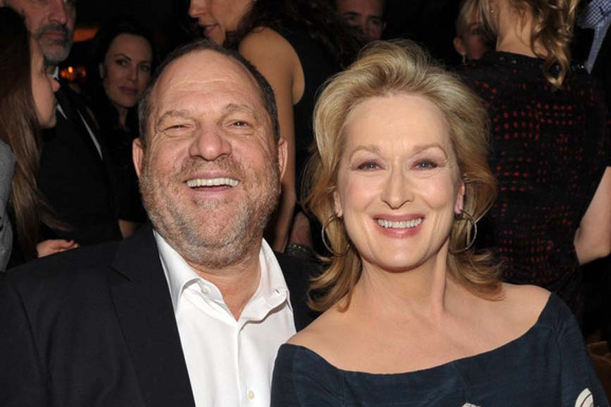 Meryl Streep e Harvey Weinstein