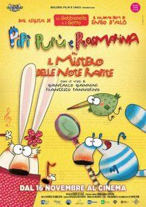 Pipì, Pupù, Rosmarina in Il mistero delle note rapite locandina