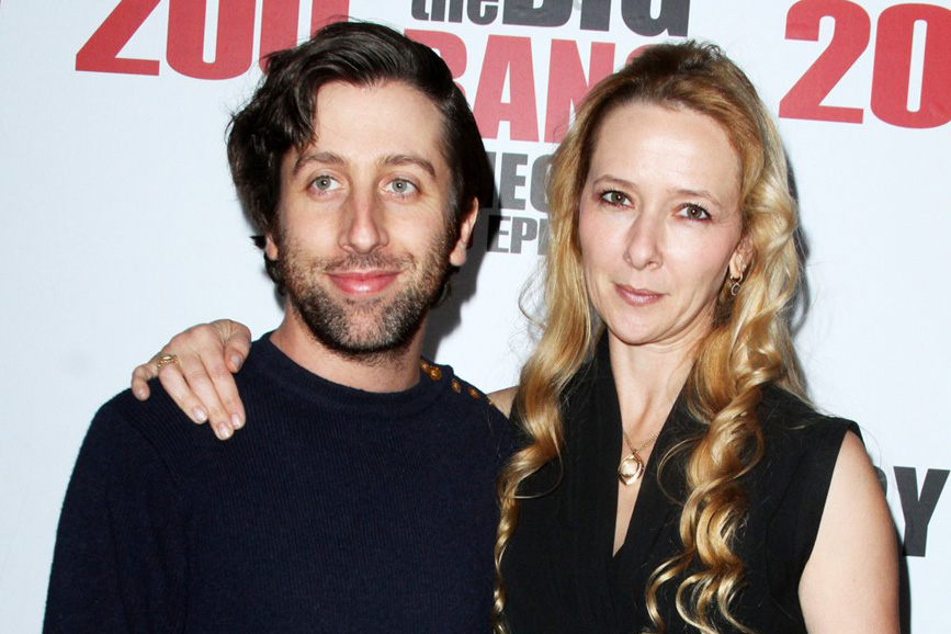 Simon Helberg and Wife